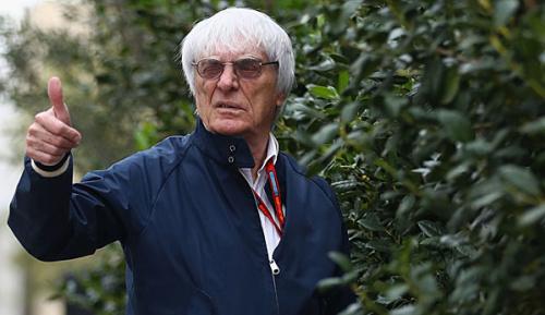 """Formel 1: Ecclestone: """"...dann lege ich Brände"""""""