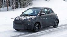 Fiat 500 elettrica, nuove foto spia prima del debutto