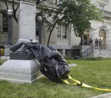 Donald Trump condemns the removal of 'beautiful' statues of Confederate generals and slave owners