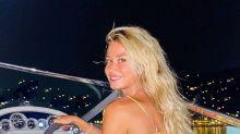 Diletta Leotta in barca sul lago di Como con l'ex di una nota attrice