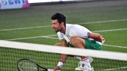 Djokovic inaugura la nueva pista central de hierba del Mallorca ATP