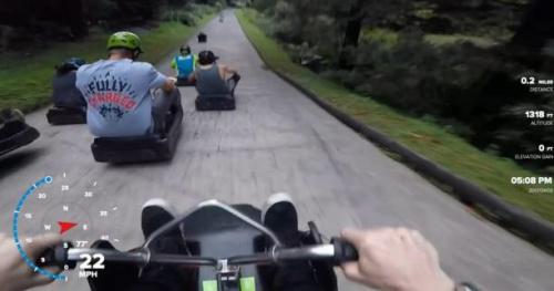 Tous sports - WTF : Une descente à pleine vitesse en Nouvelle-Zélande avec Sam Pilgrim
