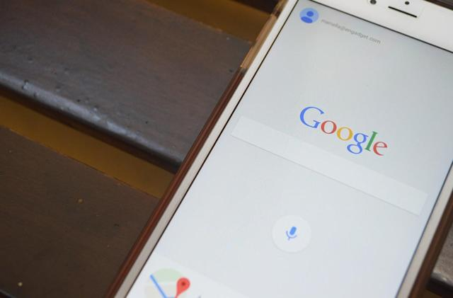 Google wants to ensnare readers in its iOS search app