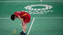 日本羽球隊本屆奧運爭金希望落空