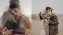 50年後看一樣美哭!簡約唯美的『文藝風婚紗』拍照範本,結婚就指定這樣拍