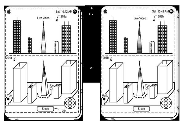 Apple seeks to spruce up the real world with interactive augmented reality, has the patent apps to prove it