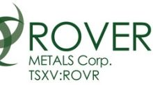 Rover Metals Corp. is awarded $85,000 grant from the Northwest Territories Government for historic Cabin Lake gold project