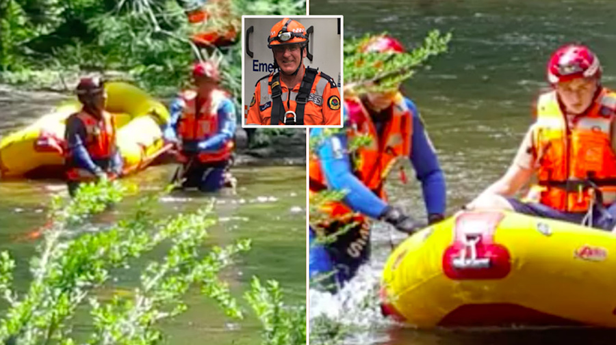 Dramatic rescue of campers stranded for seven days