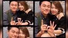Raymond Wong celebrates 13th anniversary with wife Kaka Mok