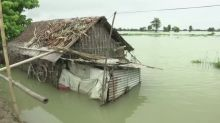 Floods in India, Nepal displace nearly 4 million