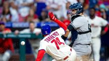 Segura's 2nd straight walkoff lifts Phillies over Yankees 8-7
