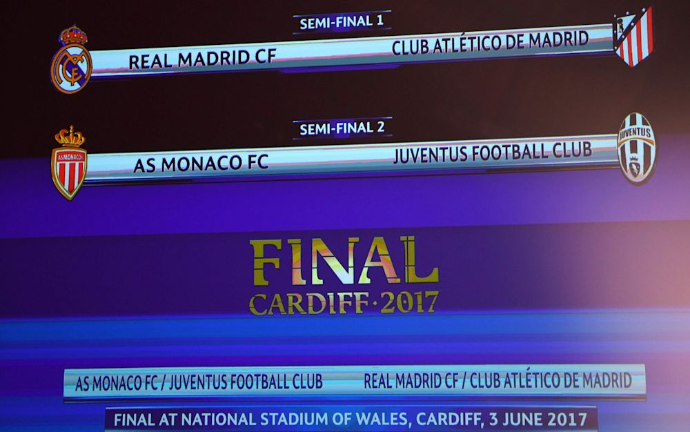 Cardiff will host the final between two of these four sides - AFP