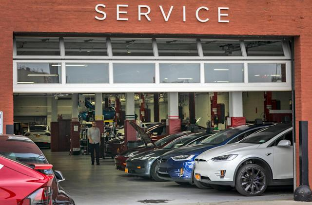 Tesla will perform most collision repairs 'in-house'