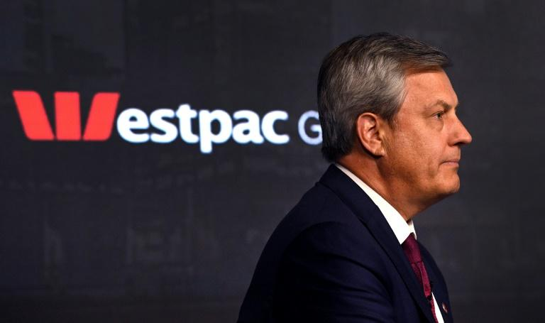 Westpac chief executive Brian Hartzer -- seen here in 2017 -- has stepped down amid a scandal rocking the bank