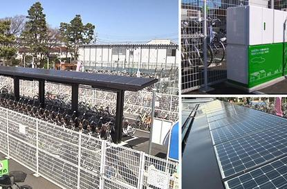 Sanyo surrounds Tokyo with Eneloop charging stations and bikes to match