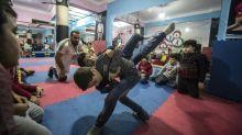 En Alejandría los jóvenes sirios recuperan la esperanza gracias al deporte