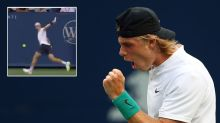 Young gun channels Federer with insane piece of 'magic'