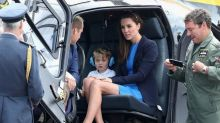 Prince George Throws a Tantrum, Is Still Adorable at Military Show With Kate Middleton and Prince William