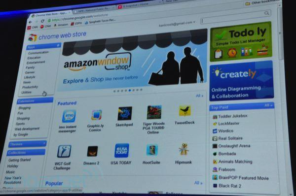 Google demos Chrome Web Store, rolling out later today to US (update: now live)