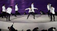 K-pop group EXO meets Evgenia Medvedeva, crushes performance at PyeongChang Closing Ceremony