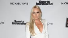 Lindsey Vonn Looked White Hot in Sexy Pantsuit