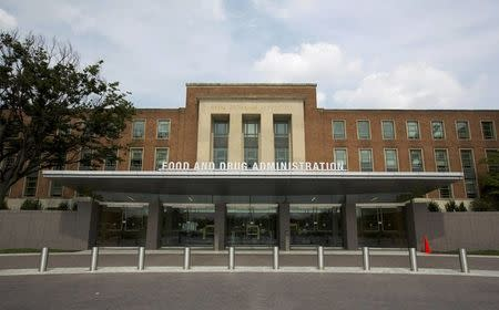 FILE PHOTO - A view shows the U.S. Food and Drug Administration headquarters in Silver Spring