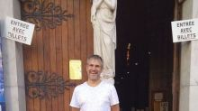 Nice stabbings: Pictured, the church worker among three killed in suspected terror attack