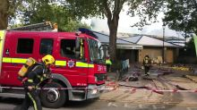 Firefighters tackle blaze at Highbury Leisure Centre