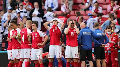 Danish players denounce hasty decision to resume