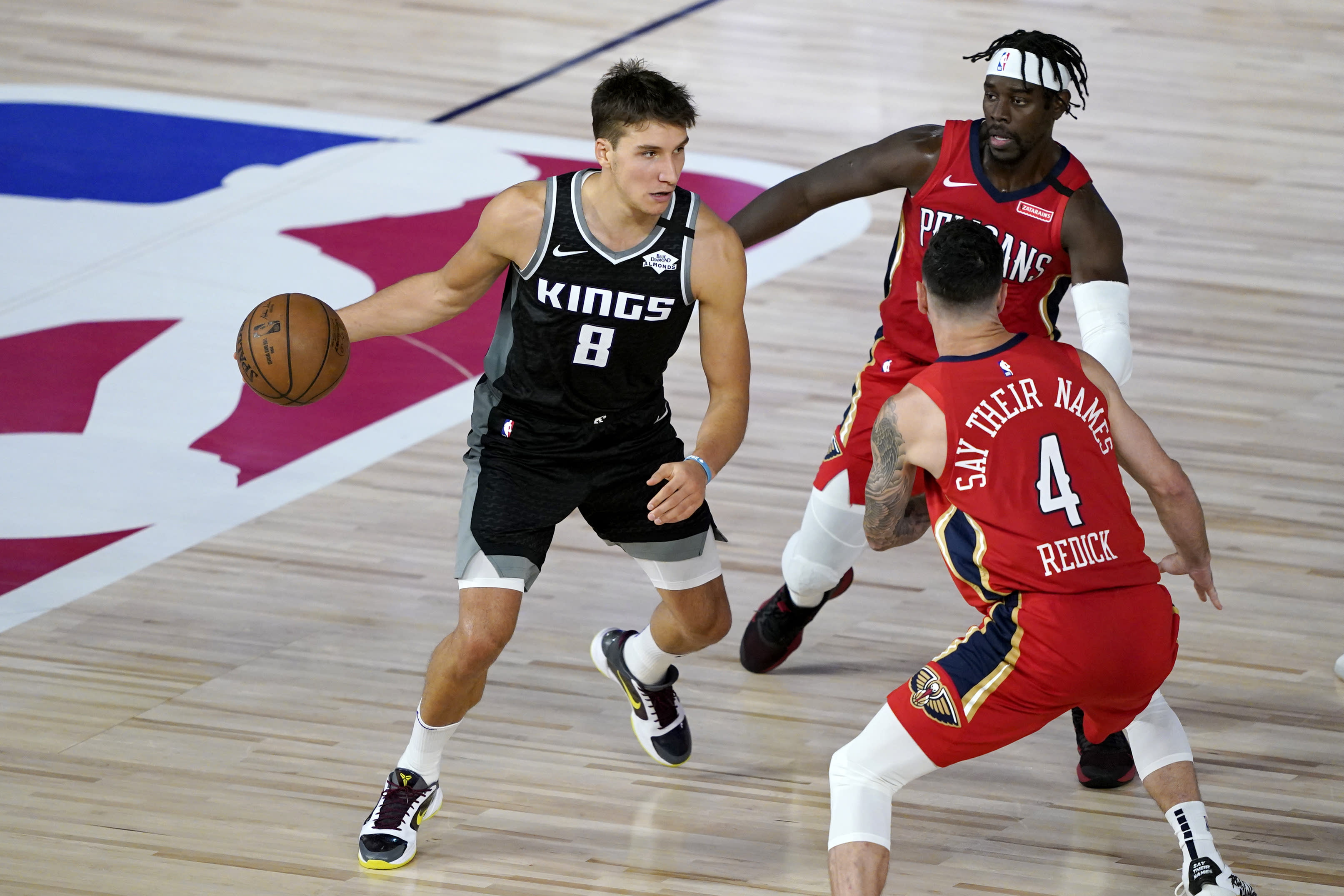 Bogdanovic's career-high 35 lead Kings past Pelicans 140-125