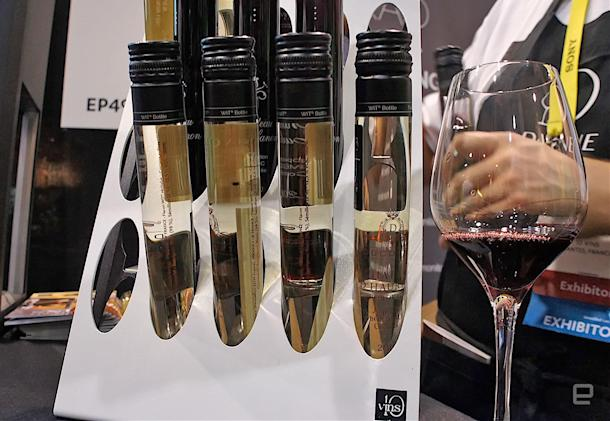Lousy sommeliers can let D-Vine pour the perfect glass of wine
