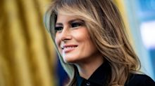 Melania Trump visits  hospital's 'cuddle' program for babies exposed to opioids in the womb