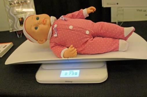 Withings intros WiFi-connected baby scale so you can tell your friends oh, how they've grown (hands-on)