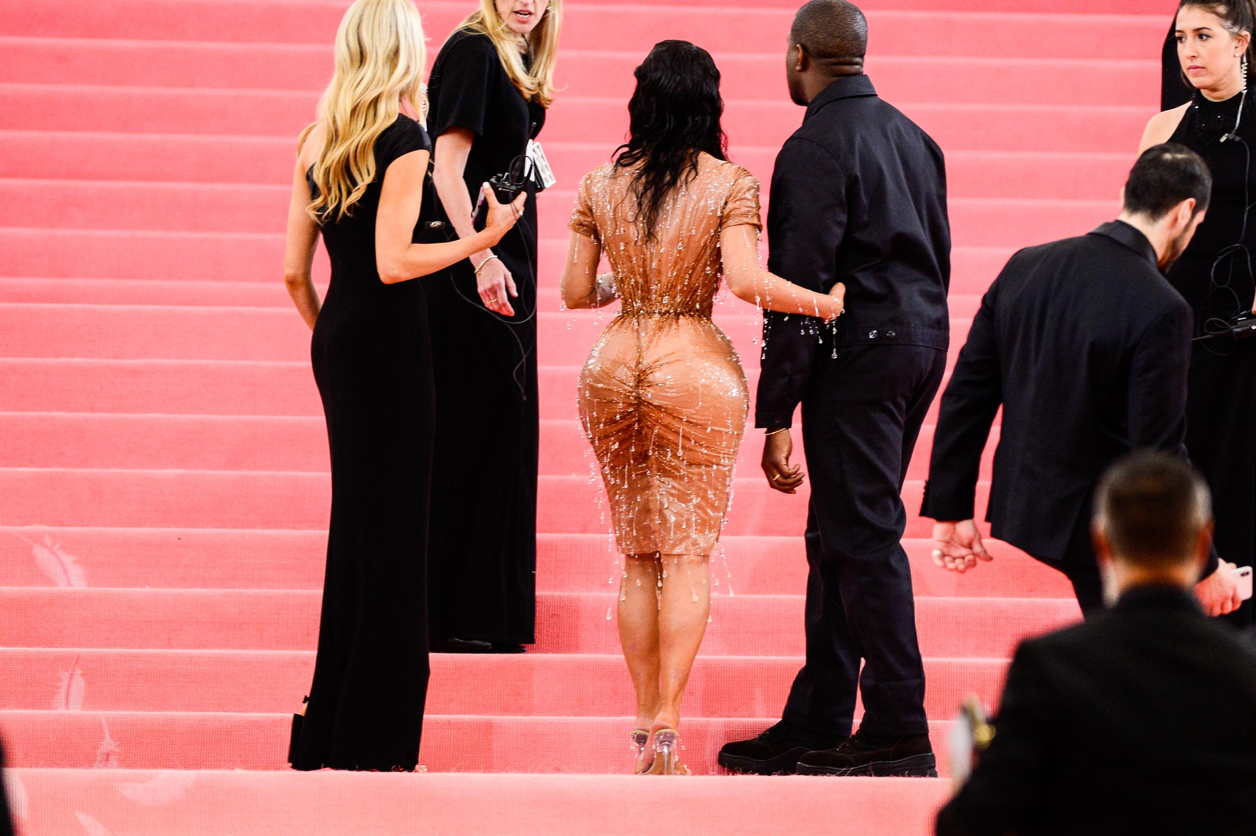 NEW YORK, NY - MAY 06:  Media personality Kim Kardashian (L) and musician Kanye West attend The 2019 Met Gala Celebrating Camp: Notes on Fashion at Metropolitan Museum of Art on May 6, 2019 in New York City.  (Photo by Ray Tamarra/GC Images)
