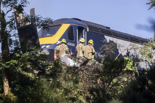 Britain Train Derailment