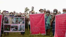 Thousands protest against Myanmar army after woman's killing