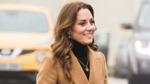 Kate Middleton's necklace is a sweet tribute to her children