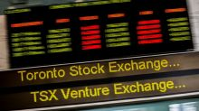 TSX posts one-week high as financials gain, energy slides