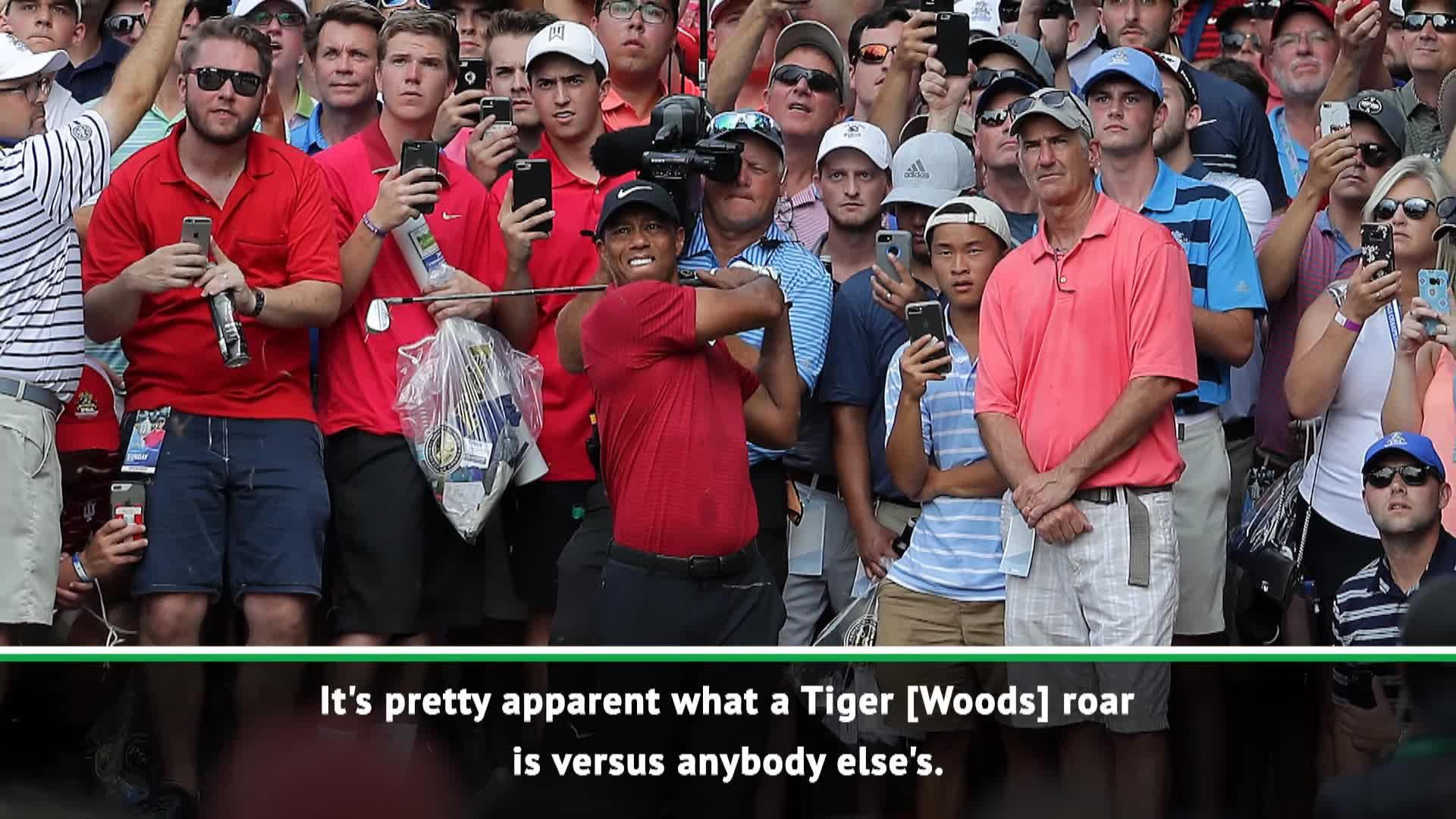 'Everybody knows a Tiger roar' - Thomas and Koepka reflect on Woods' PGA success