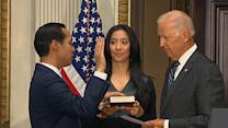 Biden Swears in Julian Castro As HUD Secretary