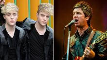 Jedward take aim at Noel Gallagher after anti-mask comments