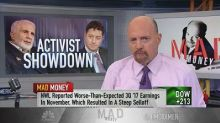 Cramer: The proxy fight in Newell Brands has very limited...