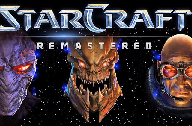 The remastered 'StarCraft' arrives in August