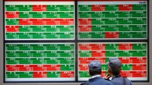 European shares recover after weak data wobble