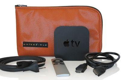 Carrying your Apple TV in style