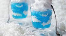 超夢幻「藍天白雲果凍飲」做法公開!夏日果凍食譜推介