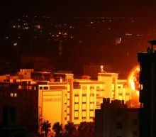 Israel carries out air strikes in Gaza after rocket attack near Tel Aviv