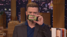 Justin Timberlake can't speak or sing on 'Tonight Show,' but it's still amazing