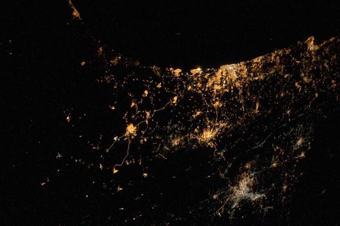 The Big Picture: Gaza conflict as seen from space