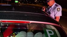 'Rude shock': Officers stunned by strange find in backseat of P-plater's car